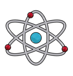 Vatom molecule particle structure biology vector