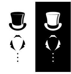 Vintage gentleman club logo vector