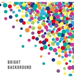 Colorful abstract spot background vector