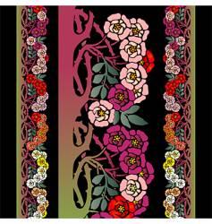 briar roses vector image
