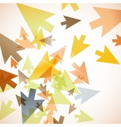 Abstract background arrow vector