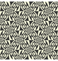 floral geometric pattern vector image vector image