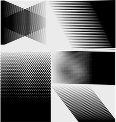 Cross hatch marks halftone vector