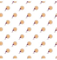 Human fertilization pattern seamless vector