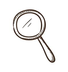 Search symbol vector image vector image