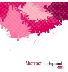 Purple abstract paint splashes  background w vector