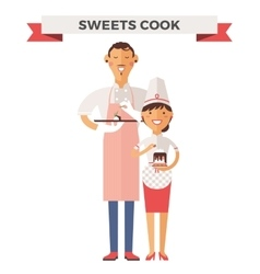 Cooking chef vector