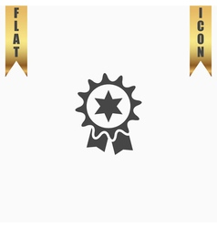 Award Icon Isolated on Background vector image vector image