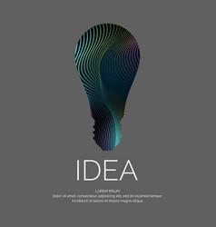 Idea conceptual vector