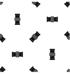 Repair detail pattern seamless black vector
