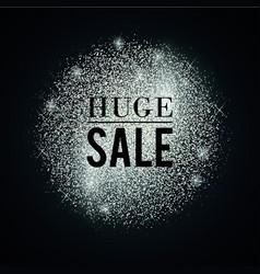 Silver-huge-sale vector