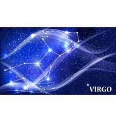 Symbol virgo zodiac sign vector