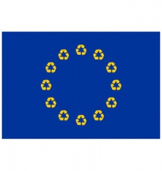 Recycling europe vector
