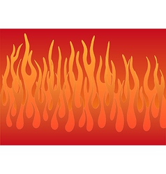 Stylized flames vector