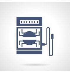 Electrical tester glyph style icon vector