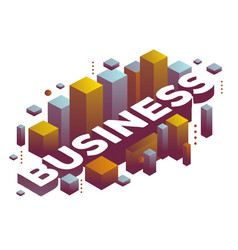 Three dimensional word business with abstract vector