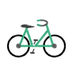 Bike or bicycle icon image vector