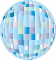 Disco sphere vector