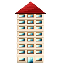 Tall building vector