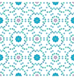 Floral background seamless floral pattern vector