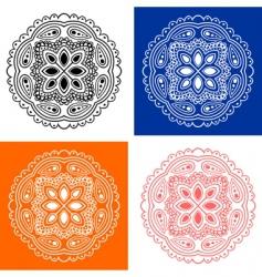 logo design elements vector image vector image