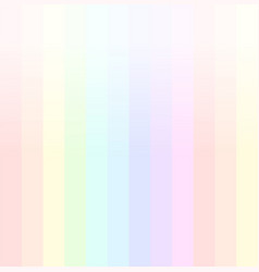rainbow background in pastel colours vector image