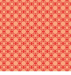 Seamless abstract red background vector