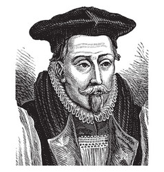 Bishop lancelot andrewes vintage vector