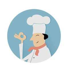 Cook chief symbol vector image