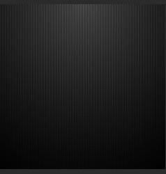 Dark striped background black lines carbon metal vector