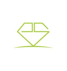 Diamond initial es vector