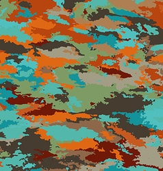 Camo Inspired Patterned Background vector image