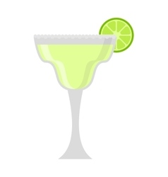 Mojito glass vector