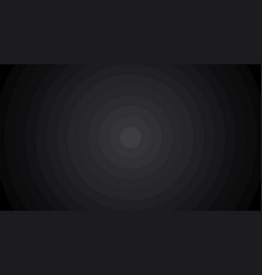black abstract radial step gradient background vector image vector image