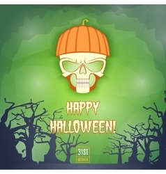 Happy Halloween Banner2 vector image vector image