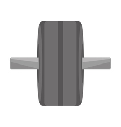Weight equipment hard gym sign vector