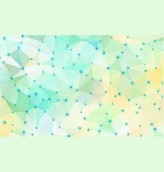 Abstract geometric crystal background vector