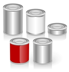 Tincan set vector