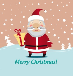 christmas santa clause vector image
