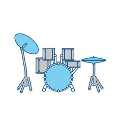 drum music instrument vector image
