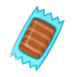 Packaging for chocolate icon cartoon style vector