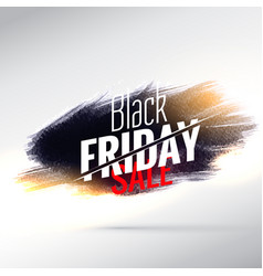 Amazing black friday sale poster design with vector