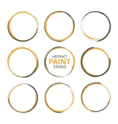 Abstract paint stains vector