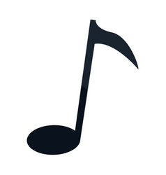 Note music sound melody armony icon vector