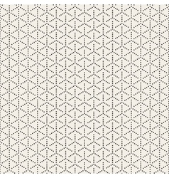 Seamless black and white circles halftone vector
