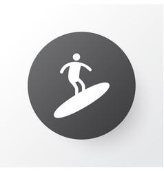 Surfing icon symbol premium quality isolated vector