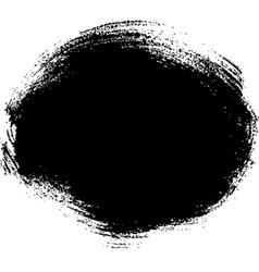 Black spot vector