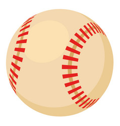 Baseball ball icon cartoon style vector