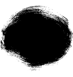 Black spot vector image vector image