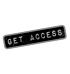 Get access rubber stamp vector